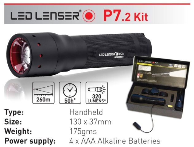 LED Lenser P7.2 Kit